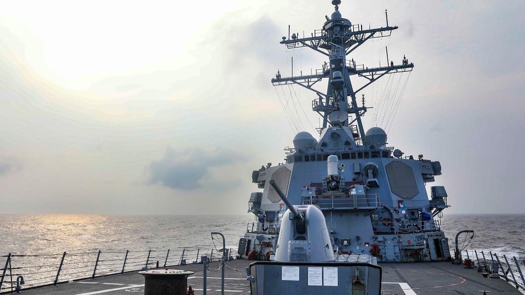 美國海軍第七艦隊指出,勃克級導向飛彈驅逐艦「班福特號」例行過境台灣海峽。(圖/翻攝自U.S. Pacific Fleet臉書) 今年第7次 美艦「班福特號」通過台灣海峽