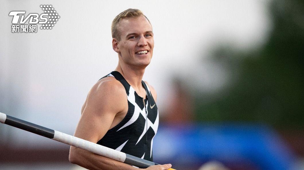 肯德里克斯確診新冠肺炎,宣布退出東奧賽事。(圖/達志影像美聯社) 又是新冠!美撐竿跳選手確診退賽 澳洲63名選手遭隔離