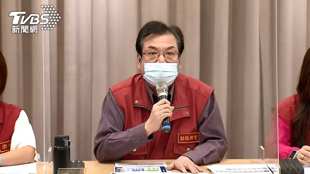 新北市副市長劉和然說明今日新北確診個案狀況。(圖/TVBS) 新北+7!5確診足跡公布 新增1例感染源不明