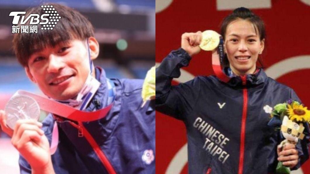 台灣奧運獎金全世界第3高。(圖/體育署提供、李天助攝) 中華隊摘金獎金全世界第3高 他點出體制問題