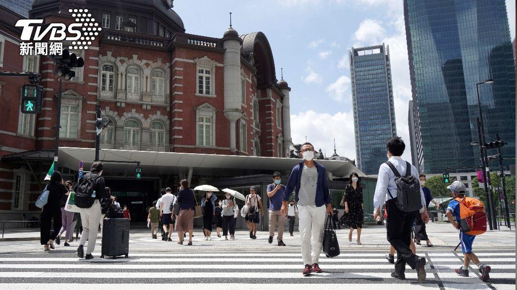 東京疫情升溫。(圖/達志影像美聯社) 東京疫情急擴大 國際奧會撇清:非東奧造成