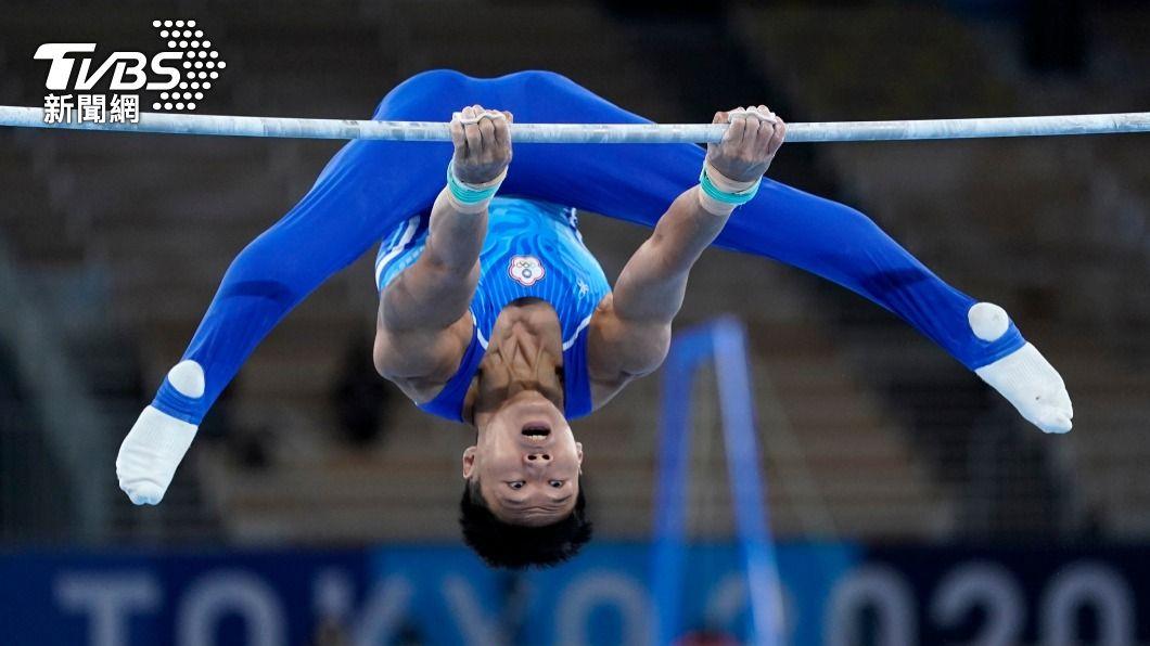 台灣體操選手唐嘉鴻在全能決賽奪得第7名。(圖/達志影像美聯社) 體操國手唐嘉鴻返台 盼未來在全能有一席之地