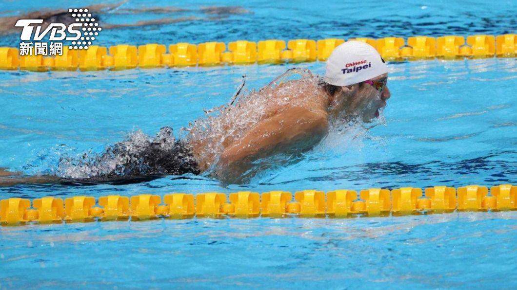 我國游泳代表隊好手王冠閎。(圖/李天助攝影) 王冠閎100蝶游出分組第3 總排名35無緣晉級下一輪