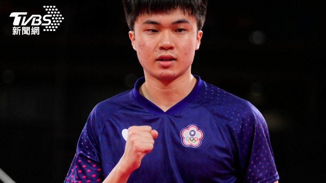 中華隊桌球選手林昀儒。(圖/達志影像美聯社) 林昀儒登奧運殿堂戰球王 卻爆「自費13萬請教練」