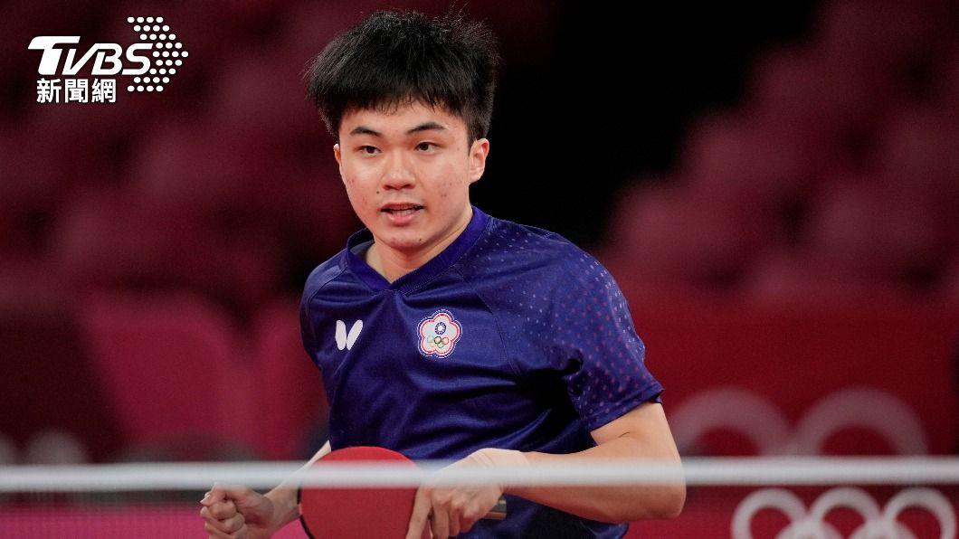 林昀儒表現精彩被稱「怪物級選手」。(圖/達志影像美聯社) 林昀儒有多猛?「1圖看4強賽對手」傻了:全是世界球王