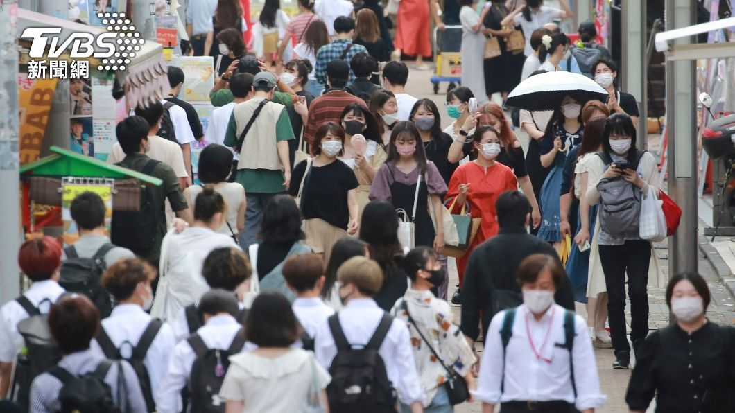 (圖/達志影像美聯社) 東京奧運內外兩個世界 病例驟升居民防疫卻鬆懈
