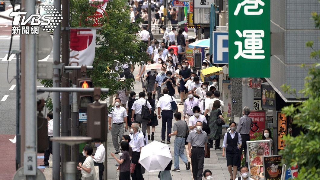 日本疫情快速擴大。(圖/達志影像美聯社) 日本疫情進入新階段 專家籲檢討緊急事態擴全境