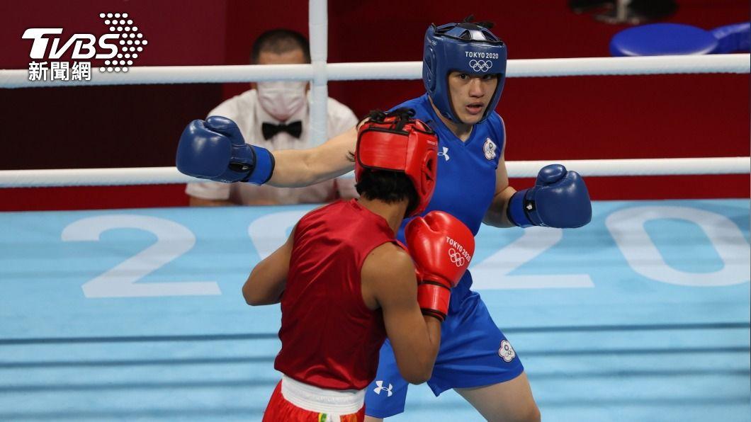 拳擊女王陳念琴。(圖/李天助攝) 陳念琴東奧拳擊止步8強 花蓮家人打氣下次贏回來