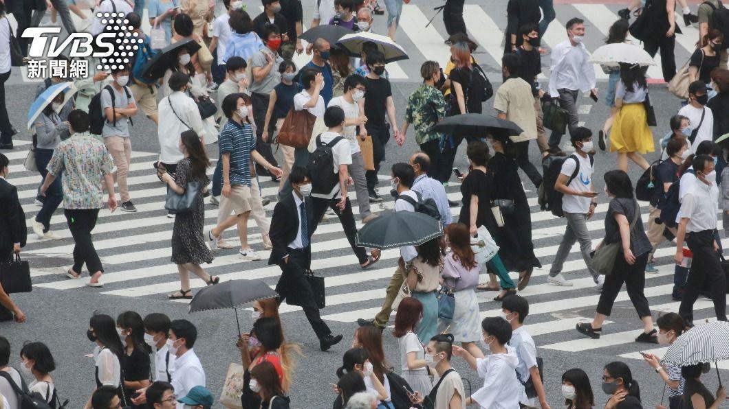 日本宣布緊急宣言從8月2日至31日。(圖/達志影像美聯社) 東奧期間疫情燒 日本宣布緊急事態延至8/31