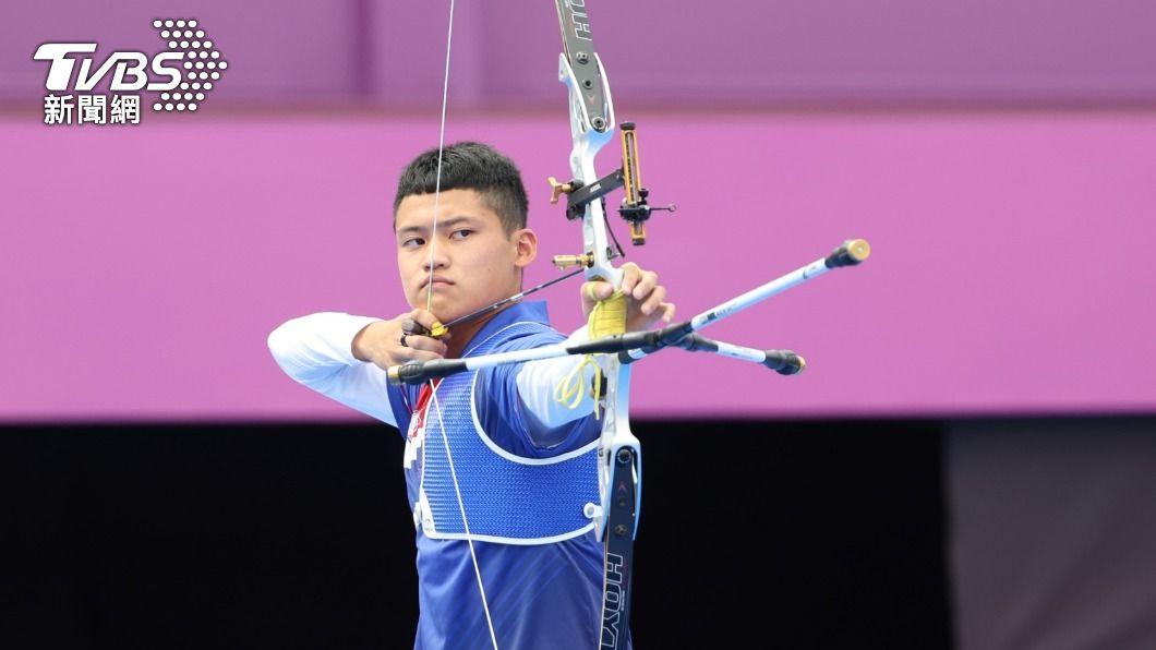 中華隊20歲小將湯智鈞。(圖/李天助攝) 湯智鈞擦身銅牌 寫中華隊射箭個人賽「最佳成績」