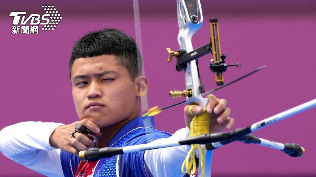 中華隊20歲小將湯智鈞。(圖/達志影像美聯社) 湯智鈞奧運射出「人生最抖一箭」 粉碎韓國5金全包夢