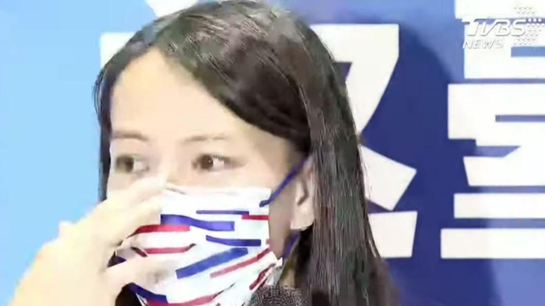 郭婞淳回台後受訪淚崩。(圖/TVBS) 「這一路走來真的不容易!」郭婞淳奪金返台 女神淚崩感謝