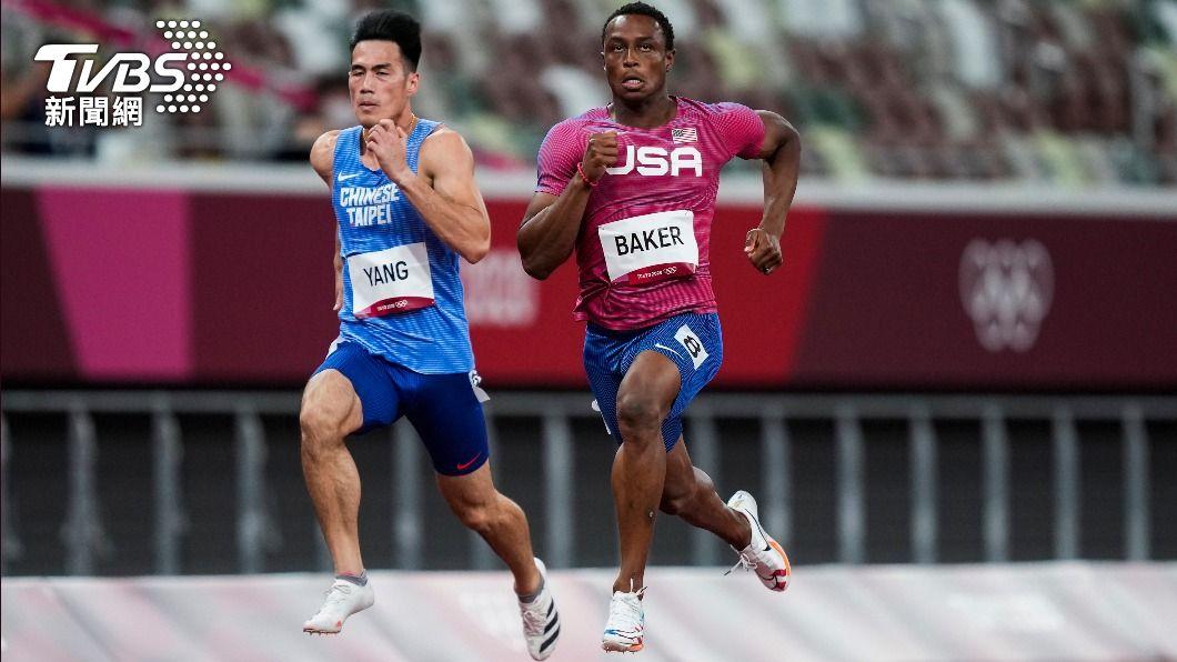 楊俊瀚擁有「台灣最速男」之稱。(圖/達志影像美聯社) 跑出本季最佳!「台灣最速男」楊俊瀚百米無緣晉級