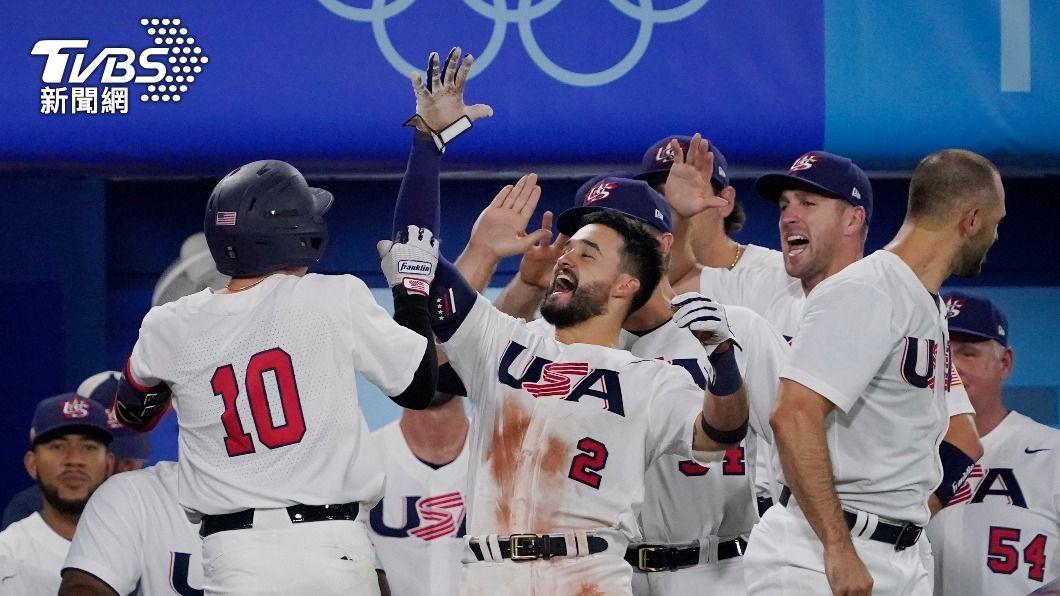 美國在昨日的預賽中,逆轉擊敗南韓。(圖/達志影像美聯社) 美MLB新秀轟2分砲逆轉南韓 強碰地主日本搶晉級