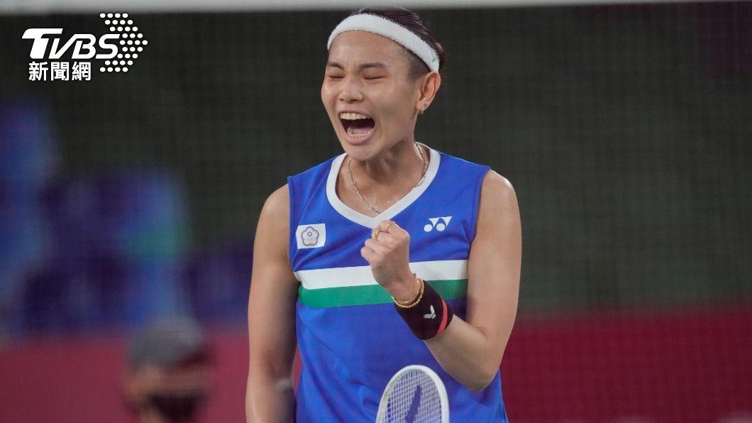 戴資穎力拚本屆東京奧運羽球女單金牌。(圖/達志影像美聯社) 自認是「不受控的女兒」 戴資穎左手刺青背後滿滿洋蔥