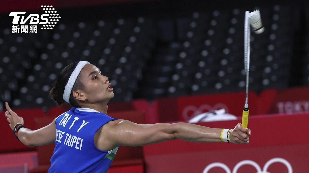 台灣羽球天后戴資穎,拿下奧運銀牌。(圖/達志影像路透社) 盡力了!陳雨菲相對較穩 戴資穎刁鑽回擊失誤較多