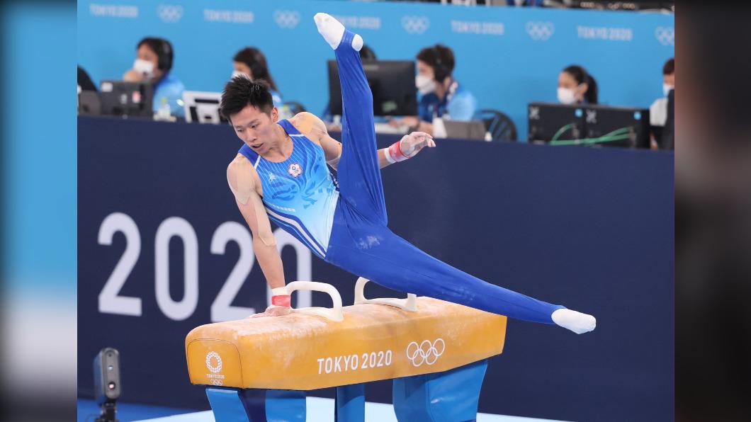 李智凱。(圖/體育署提供) 銀牌!李智凱鞍馬展現超高技巧 完美落地拿高分