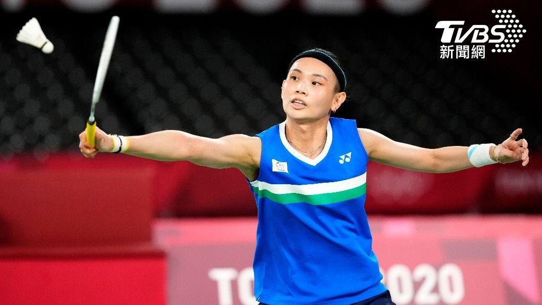世界球后戴資穎。(圖/達志影像美聯社) 奮戰到最後一刻!戴資穎奪銀牌 寫台灣羽球女單新歷史