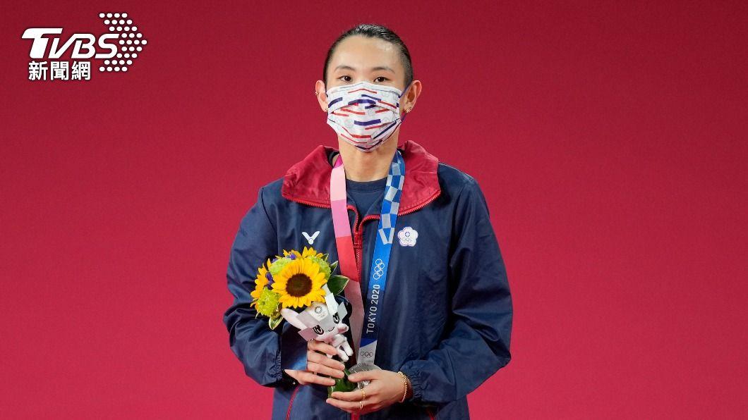 戴資穎在東奧榮獲銀牌。(圖/達志影像美聯社) 勵志!細數「戴資穎奧運之路」曾二度受挫 不服輸終奪銀