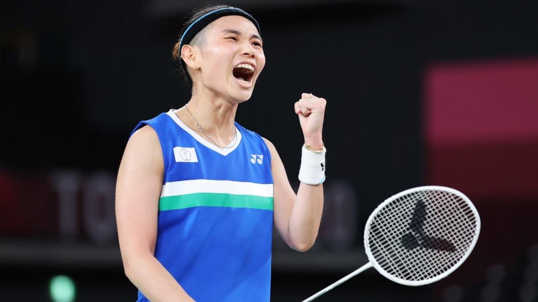 戴資穎在東京奧運羽球女單奪下銀牌。(圖/體育署提供) 賽後「印度女將擁抱」惹淚崩 戴資穎:可能沒機會再比奧運