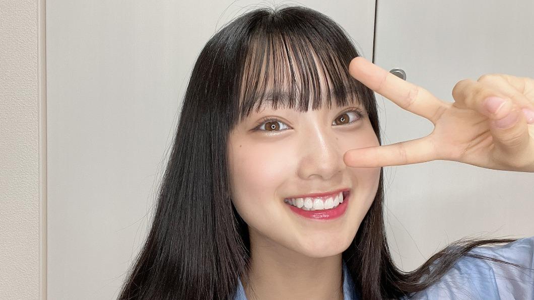 德永羚海年僅14歲。(圖/翻攝自德永羚海推特) AKB48爆群聚感染7人確診!最小年僅14歲