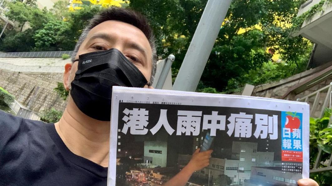 圖/翻攝自黃耀明 Anthony Wong臉書 快訊/疑涉民主派補選 港歌手黃耀明傳遭拘捕