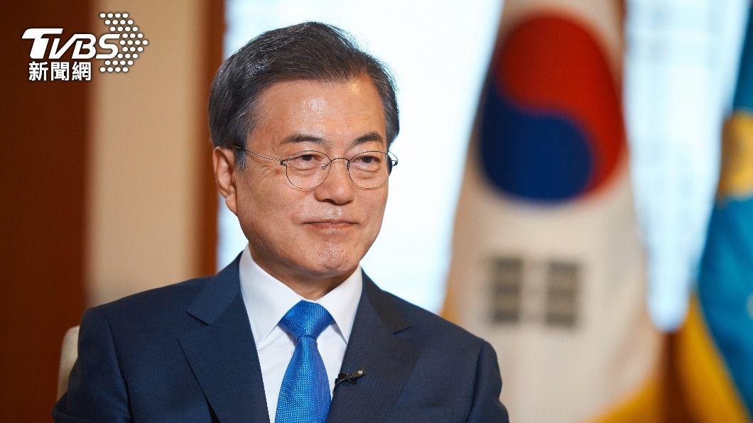 南韓總統文在寅。(圖/shutterstock達志影像) 南韓總統文在寅會面英首相強生 敲定互換疫苗