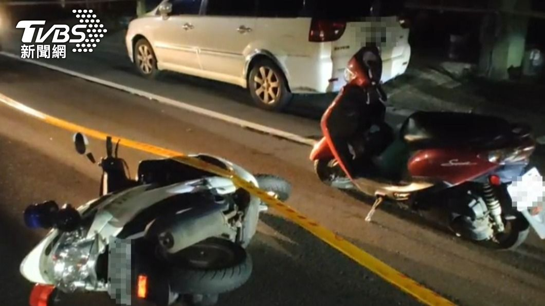 宜蘭縣頭城鎮發生槍擊案,員警中彈送醫。(圖/TVBS) 宜蘭傳槍響! 警「胸口中彈貫穿肺」負傷壓制嫌犯