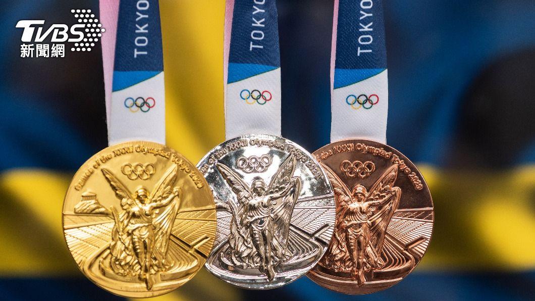 2020東京奧運獎牌。(示意圖/shutterstock達志影像) 終生榮耀不敵現實!奧運選手變賣金牌 背後故事有洋蔥