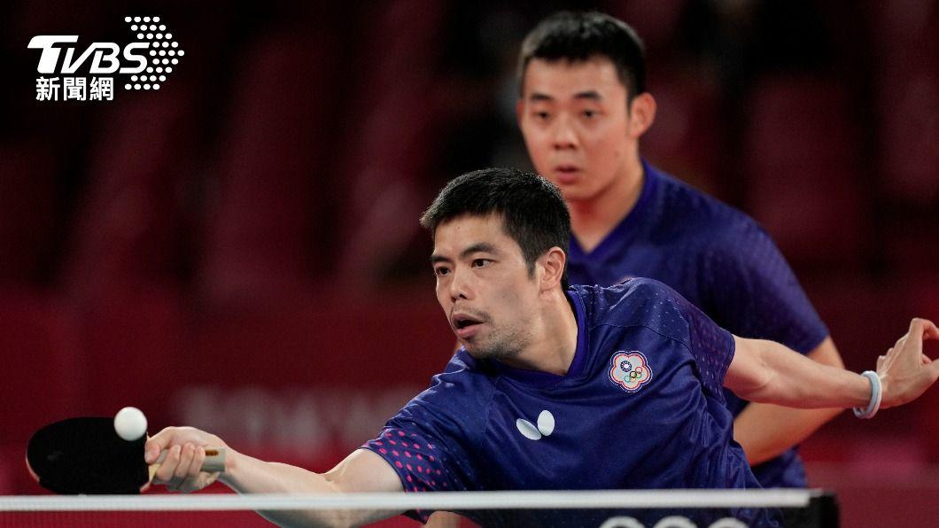 莊智淵透露這是最後一次打奧運。(圖/達志影像美聯社) 自責8強決勝點失誤多!莊智淵曝「最後一次奧運」後動向