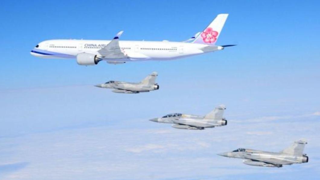 圖/TVBS資料畫面 中華隊奧運成績斐然 4架幻象2000將伴飛華航