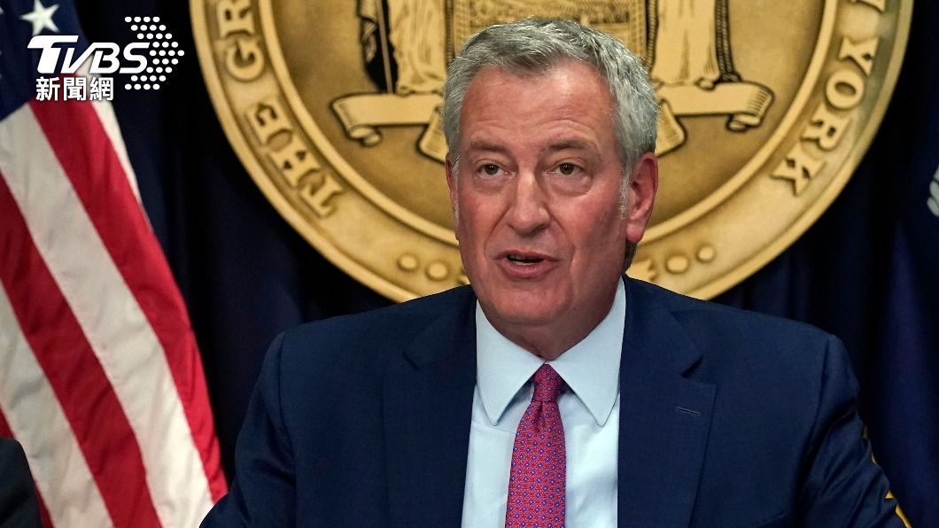 紐約市長白思豪宣布上健身房等室內場所,需要出示疫苗接種證明。(圖/達志影像美聯社) 紐約市開全美先例 餐廳內用要出示疫苗接種證明