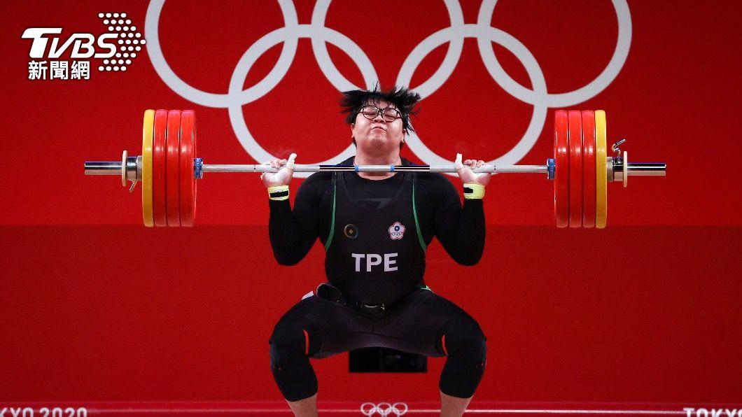 舉重選手謝昀庭首次參加奧運會。(圖/達志影像路透社) 無限量級舉重!謝昀庭抓舉172公斤、挺舉206公斤