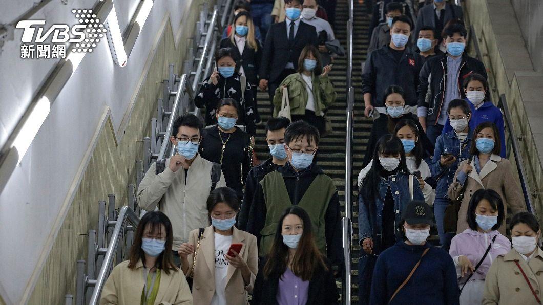 (圖/達志影像美聯社) 大陸武漢本土疫情再起 確認為Delta變異病毒株