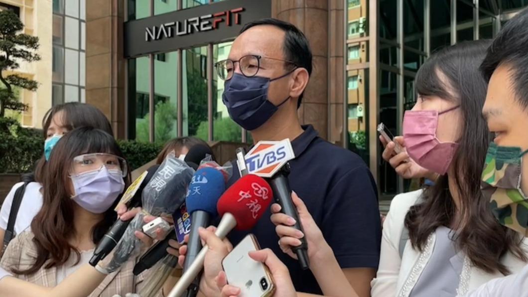國民黨前主席朱立倫。(圖/朱立倫辦公室提供) 不排除藍白合!朱立倫:2024名單「現在」沒有我