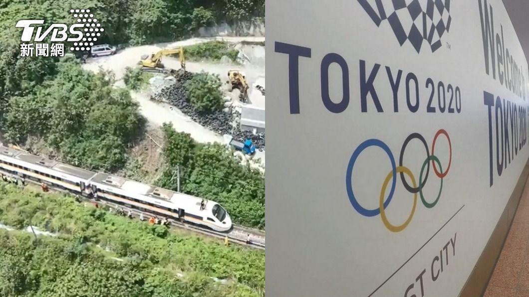 台鐵太魯閣號事故、2020東京奧運。(圖/TVBS資料畫面) 女兒搭太魯閣號罹難 律師曝「這位媽媽」看著奧運心碎