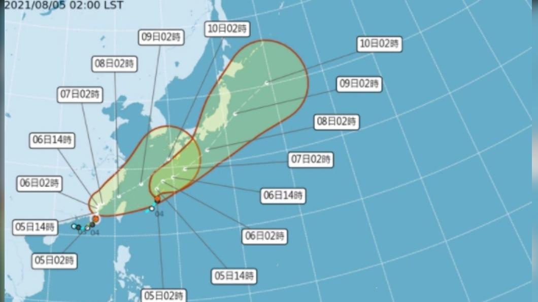 第10號颱風銀河生成。(圖/中央氣象局提供) 快訊/今年第10號颱風「銀河」生成 路徑出爐