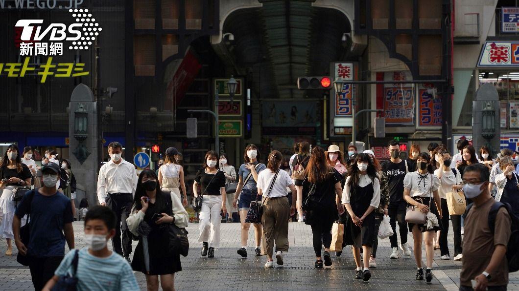(圖/達志影像美聯社) 東京新增逾5千例確診 專家估8月18日恐逾萬例