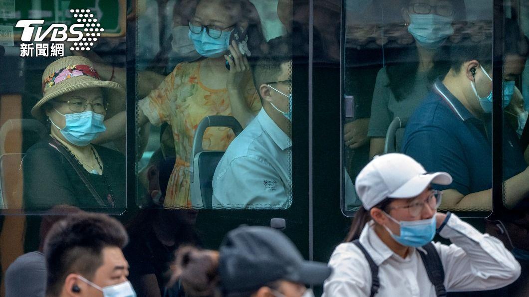 (圖/達志影像美聯社) 中國大陸新增124例新冠確診 本土占80例