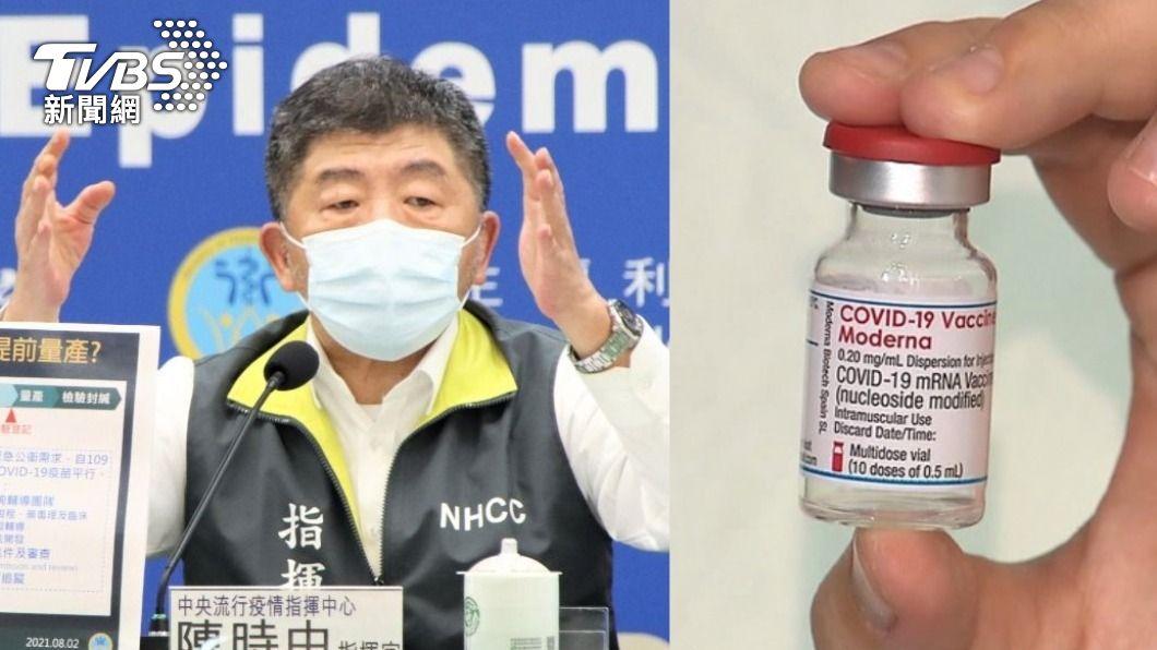 衛福部長、中央流行疫情指揮中心指揮官陳時中。(合成圖/中央流行疫情指揮中心提供、TVBS) 全台疫苗荒!食藥署施打率169% 第2類官員竟多10萬人