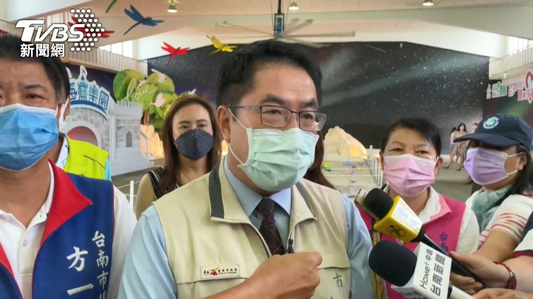 台南市長黃偉哲。(圖/TVBS資料畫面) 長輩遭唬「疫苗是議員爭取的」 黃偉哲:這麼厲害去找原廠