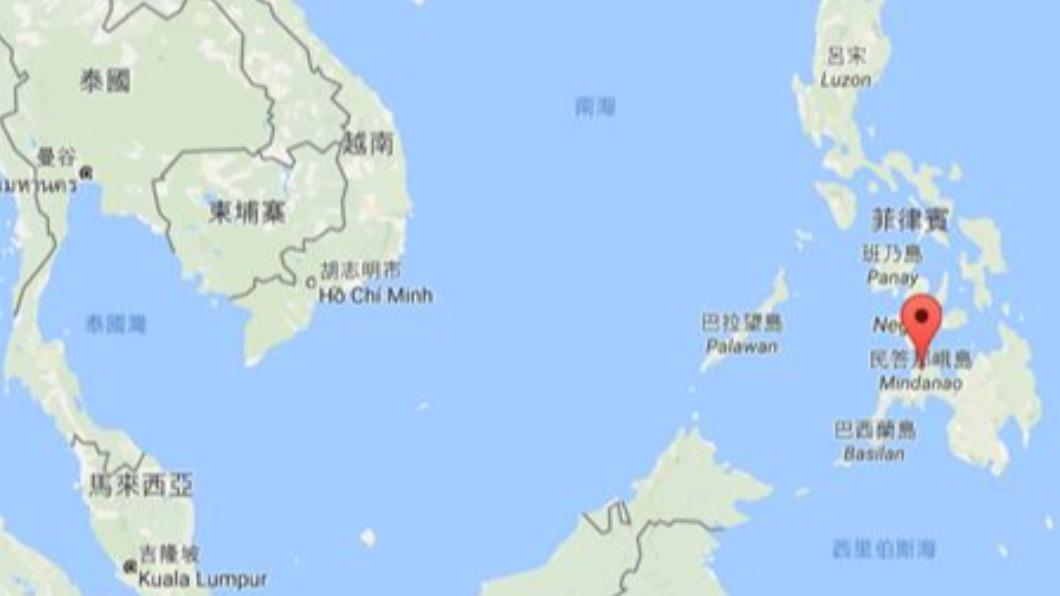 圖/TVBS 資料畫面  菲律賓民答那峨島規模7.2強震 美國發布海嘯警報