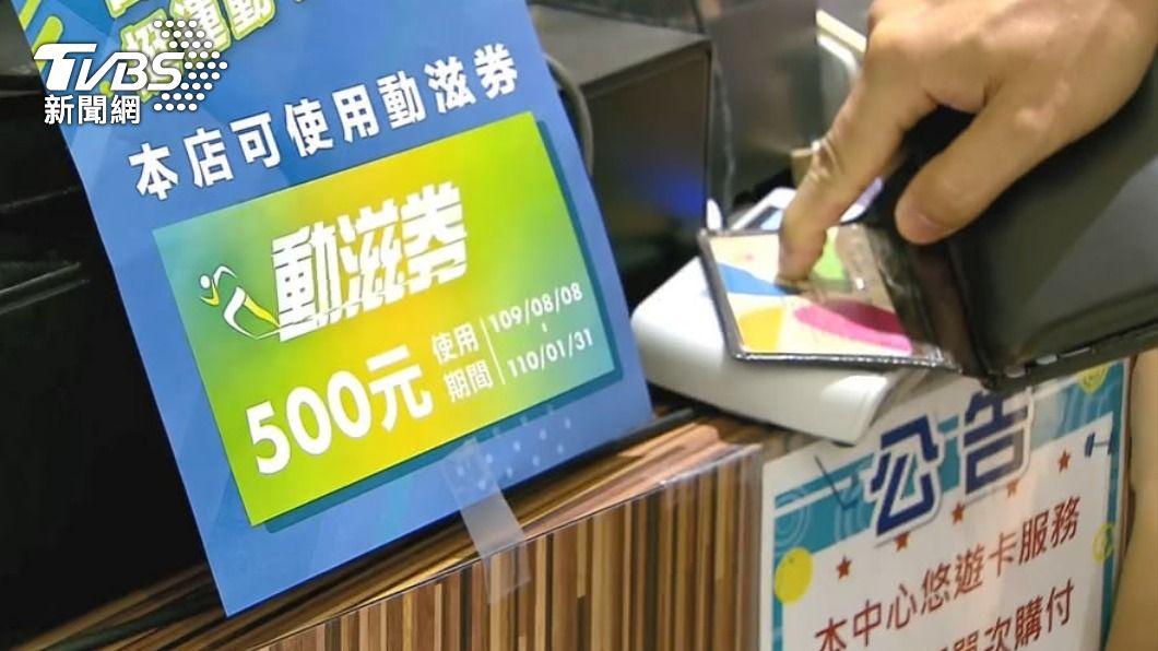 動滋券即將上路。(圖/TVBS資料畫面) 500元動滋券來了!登記時間、使用方法一次看