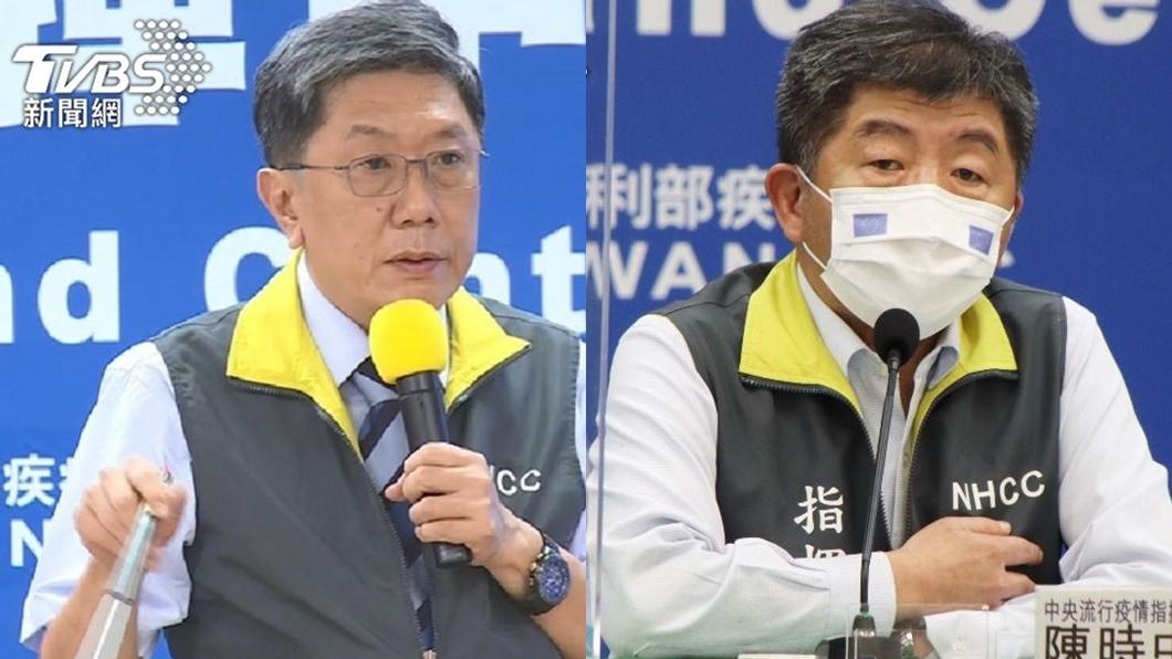 李秉穎(左)、陳時中(右)。(圖/TVBS資料畫面) 陳時中不演了備戰選市長? 他抖李秉穎「這番話藏玄機」