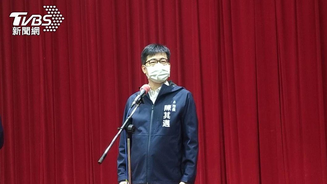 高雄市長陳其邁。(圖/中央社) 被問是否選總統? 陳其邁:說幾年後選什麼都穩死