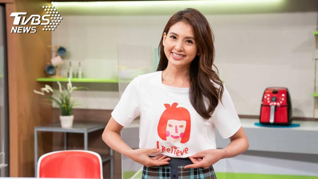 韋汝號召做公益 。圖/TVBS 藍心湄、韋汝號召做公益  呼籲女性愛自己、找回自信