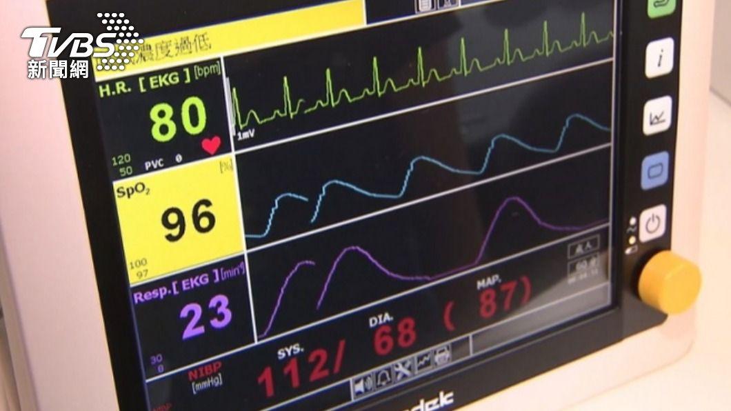 田知學為安慰家屬遺憾,將曾握著病患手的手套送給對方。(示意圖/TVBS資料畫面) 病患心跳變一條線!醫急脫手套 家屬握「最後溫度」淚崩