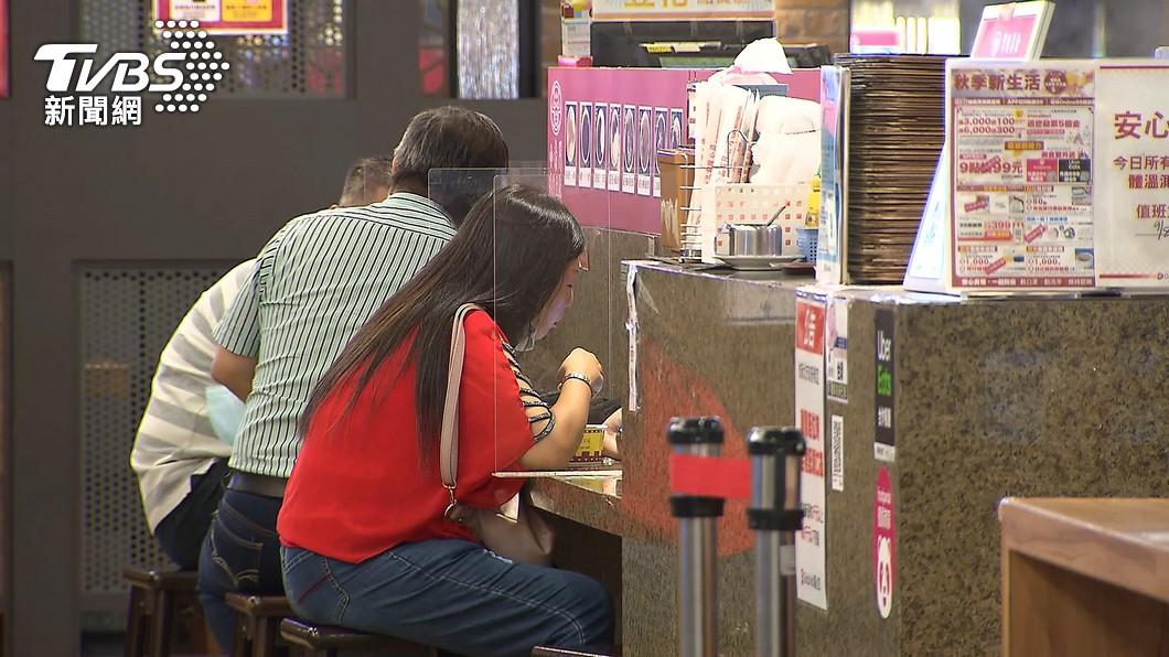 台北市餐飲開放內用再解封。(示意圖/TVBS資料畫面) 北市餐飲內用再放寬 柯文哲:同桌認識不須隔板、梅花座