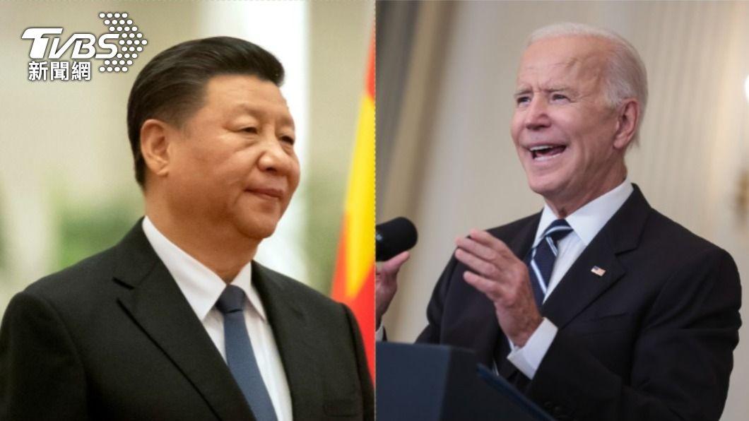 美國總統拜登(右)在911事件20週年前夕,主動與中國國家主席習近平(左)通話90分鐘。(圖/達志影像美聯社) 觀點/拜習通話VS.台灣更名 如何理解拜登的對衝外交?