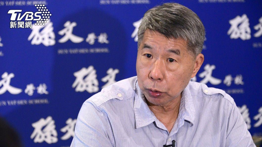 國民黨主席候選人張亞中。(圖/TVBS) 專訪/批江打朱後勢看漲 張亞中:我會贏!得票不只15%